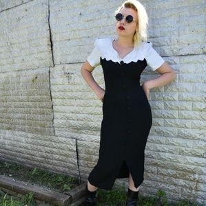 Vintage Full Length Dress